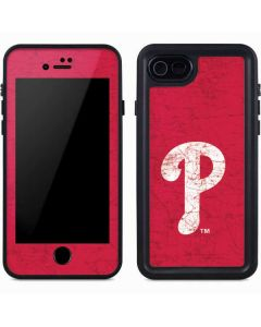 Philadelphia Phillies - Solid Distressed iPhone 8 Waterproof Case