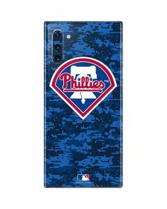 Philadelphia Phillies Digi Camo Galaxy Note 10 Skin