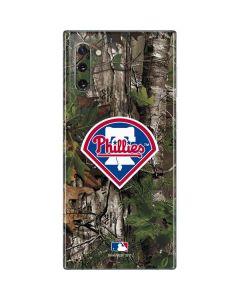 Philadelphia Phillies Realtree Xtra Green Camo Galaxy Note 10 Skin
