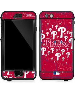 Philadephia Phillies Blast LifeProof Nuud iPhone Skin