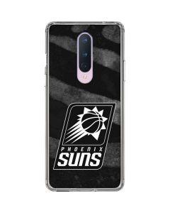 Phoenix Suns Black Animal Print OnePlus 8 Clear Case