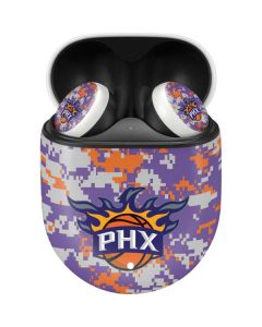Phoenix Suns Digi Camo Google Pixel Buds Skin