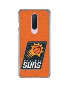 Phoenix Suns Distressed OnePlus 8 Clear Case