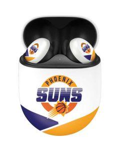 Phoenix Suns Split Google Pixel Buds Skin