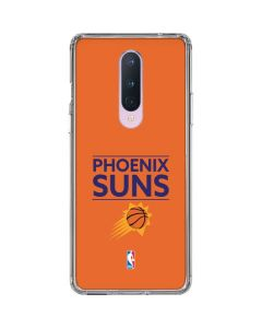 Phoenix Suns Standard - Orange OnePlus 8 Clear Case