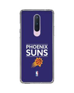 Phoenix Suns Standard - Purple OnePlus 8 Clear Case