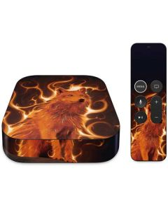 Phoenix Wolf Apple TV Skin