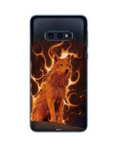 Phoenix Wolf Galaxy S10e Skin
