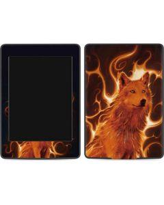 Phoenix Wolf Amazon Kindle Skin