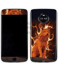 Phoenix Wolf Moto X4 Skin
