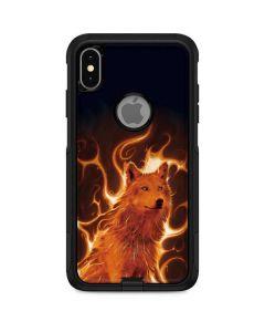 Phoenix Wolf Otterbox Commuter iPhone Skin
