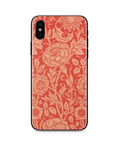 Pink & Rose by William Morris iPhone 8 Skin