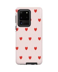 Pink and Red Hearts Galaxy S20 Ultra 5G Pro Case