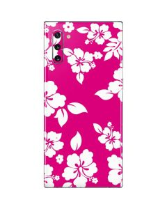 Pink and White Galaxy Note 10 Skin