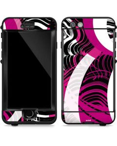 Pink and White Hipster LifeProof Nuud iPhone Skin