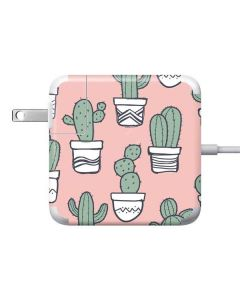 Pink Cactus 85W Power Adapter (15 and 17 inch MacBook Pro Charger) Skin