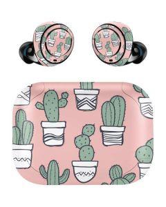 Pink Cactus Amazon Echo Buds Skin