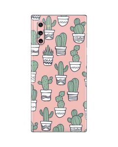 Pink Cactus Galaxy Note 10 Skin