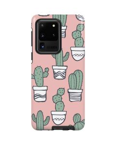 Pink Cactus Galaxy S20 Ultra 5G Pro Case
