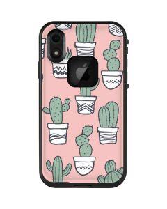 Pink Cactus LifeProof Fre iPhone Skin