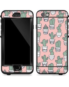 Pink Cactus LifeProof Nuud iPhone Skin
