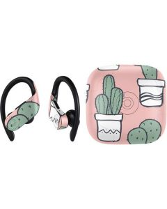 Pink Cactus PowerBeats Pro Skin