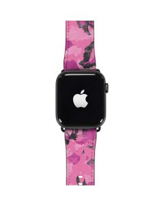 Pink Camouflage Apple Watch Band 42-44mm
