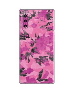 Pink Camouflage Galaxy Note 10 Skin