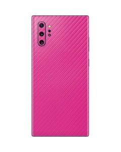 Pink Carbon Fiber Galaxy Note 10 Plus Skin