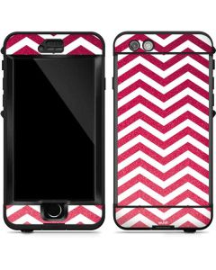 Pink Chevron LifeProof Nuud iPhone Skin