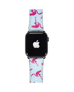Pink Flamingos Apple Watch Band 42-44mm