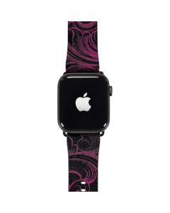 Pink Flourish Apple Watch Case