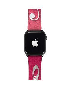 Pink Glitter Music Note Apple Watch Band 42-44mm