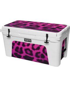 Pink Leopard Spots YETI Tundra 75 Hard Cooler Skin