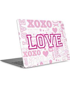 Pink Lover Apple MacBook Air Skin