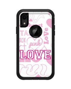 Pink Lover Otterbox Defender iPhone Skin