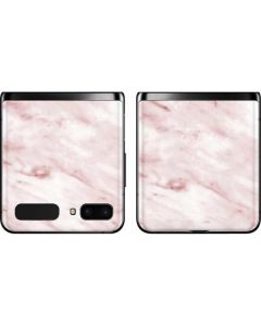 Pink Marble Galaxy Z Flip Skin