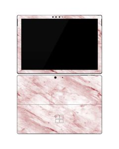 Pink Marble Surface Pro 7 Skin