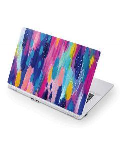 Pink Sparkle Brush Stroke Acer Chromebook Skin