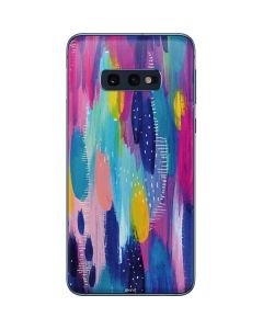 Pink Sparkle Brush Stroke Galaxy S10e Skin