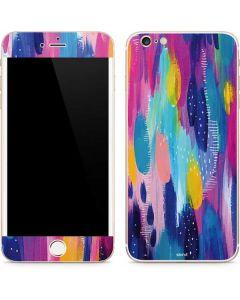 Pink Sparkle Brush Stroke iPhone 6/6s Plus Skin