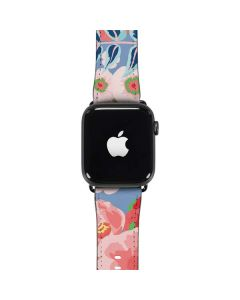 Pink Spring Flowers Apple Watch Band 38-40mm