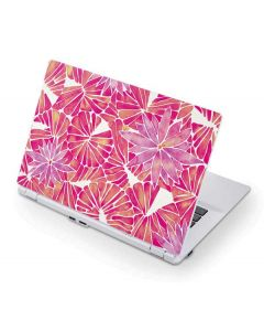 Pink Water Lilies Acer Chromebook Skin