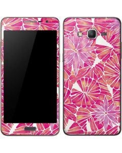 Pink Water Lilies Galaxy Grand Prime Skin