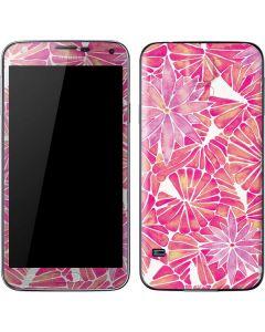 Pink Water Lilies Galaxy S5 Skin