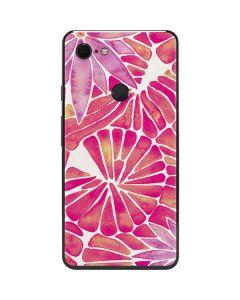 Pink Water Lilies Google Pixel 3 XL Skin