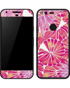 Pink Water Lilies Google Pixel Skin