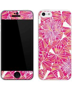 Pink Water Lilies iPhone 5c Skin