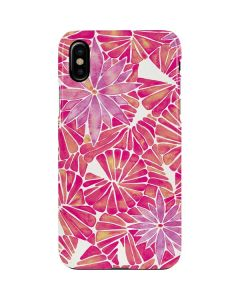 Pink Water Lilies iPhone XS Max Lite Case