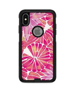 Pink Water Lilies Otterbox Commuter iPhone Skin